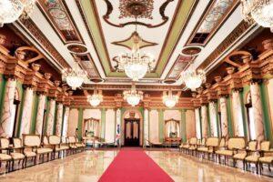 bienvenido al palacio nacional la sobriedad y elegancia de sus salones