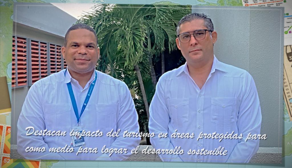 El viceministro Federico Franco y Moises Gonzalez